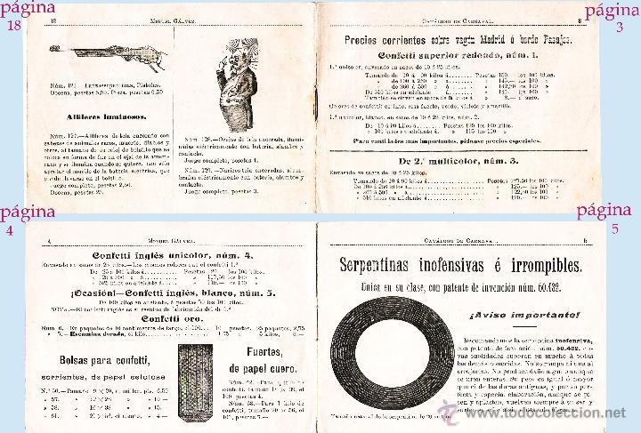 Sellos: Paginas 3, 4 y 5. - Foto 2 - 47476421
