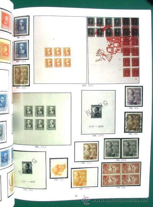 Sellos: SUBASTA PÚBLICA ESPAÑA Y EX-COLONIAS - FILATELIA - SOLER Y LLACH, 2013 - Foto 5 - 47922919