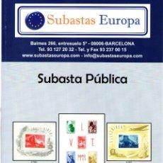 Sellos: CATALOGO DE FILATELIA - SELLOS HISTORIA POSTAL. Lote 47974793