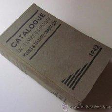 Sellos: CATALOGUE DE TIMBRES POSTE 1942. Lote 48559694