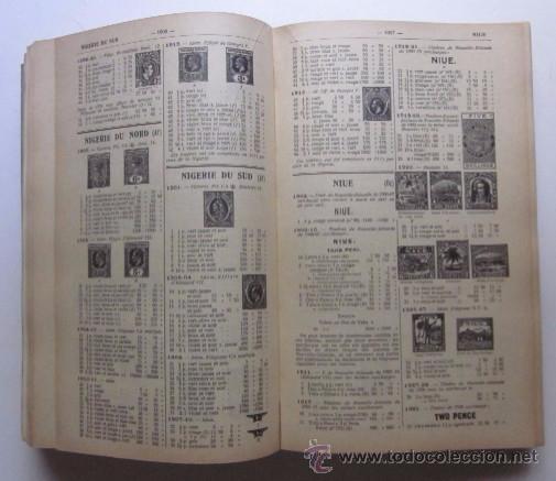 Sellos: CATALOGUE DE TIMBRES POSTE 1942 - Foto 5 - 48559694
