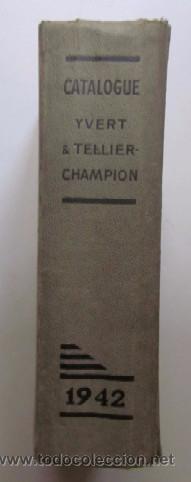 Sellos: CATALOGUE DE TIMBRES POSTE 1942 - Foto 6 - 48559694