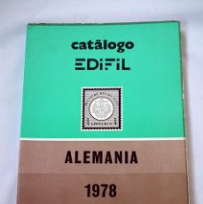 Sellos: CATALOGO DE SELLOS EDIFIL - ALEMANIA 1978. Lote 49051431