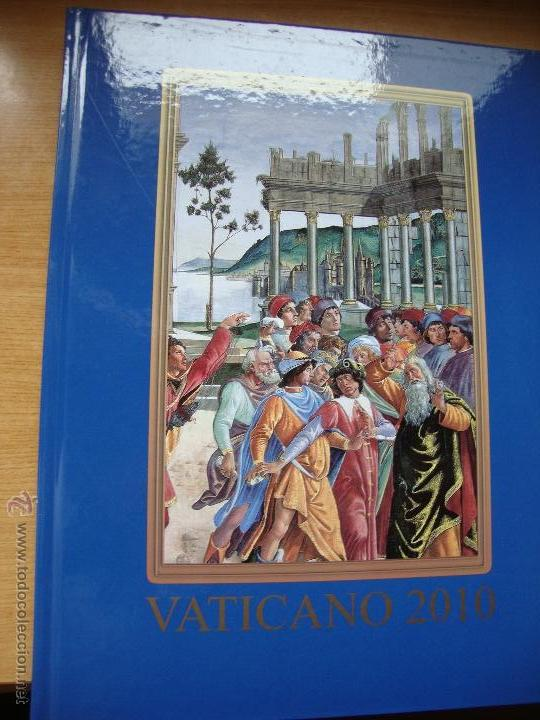 LIBRO ANUAL DE SELLLOS VATICANO (SOLAMENTE LIBRO SIN SELLLOS) (Filatelia - Sellos - Catálogos y Libros)