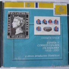 Sellos: ESPAÑA Y CORREO ESPAÑOL EN ANDORRA 1850 - 2001 Y OTROS PRODUCTOS FILATÉLICOS.. Lote 49739434
