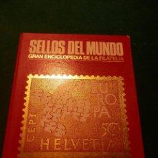 Sellos: SELLOS DEL MUNDO - EUROPA - EDICIONES URBION - CARPETA CON SELLOS - VER DETALLES. Lote 49871420