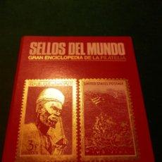 Sellos: SELLOS DEL MUNDO - AFRICA - AMERICA - EDICIONES URBION - CARPETA CON SELLOS - VER DETALLES. Lote 49871529