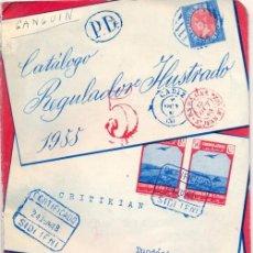 Sellos: CATALOGO REGULADOR CRITIKIAN 1955 SELLOS DE ESPAÑA, COLONIAS Y ESPAÑOLAS, MUY ESCASO. Lote 49936960