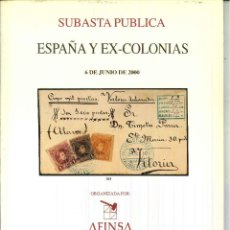 Sellos: ESPAÑA Y EX-COLONIAS 6 DE JUNIO DE 2000. Lote 50458629