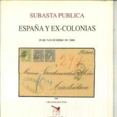Sellos: ESPAÑA Y EX-COLONIAS 29 DE NOVIEMBRE DE 2000.. Lote 50458684