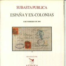 Sellos: ESPAÑA Y EX-COLONIAS 8 DE FEBRERO DE 2001.. Lote 50458738