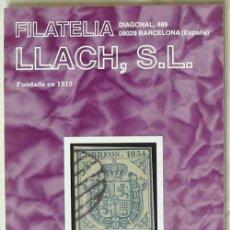 Sellos: CATALOGO DE VENTA 949 - FILATELIA LLACH - OCTUBRE 2002 - 120 PÁGINAS - VER INDICE. Lote 51063547