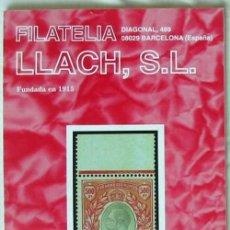 Sellos: CATALOGO DE VENTA 954 - FILATELIA LLACH - MARZO 2003 - 128 PÁGINAS - VER INDICE. Lote 51063650