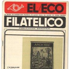 Sellos: REVISTA EL ECO FILATÉLICO - Nº 490 - 1967. Lote 51192035
