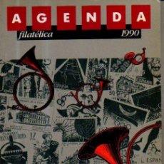 Sellos: AGENDA FILATELICA 1990.. Lote 51462788