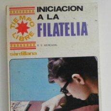 Sellos: INICIACIÓN A LA FILATELIA R S MERCADAL COLECCIONISMO DE SELLOS GUÍA DICCIONARIO FALSIFICADO LIBRO CT. Lote 261989025