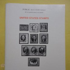 Sellos: FILATELIA. SELLOS. PUBLIC AUCTION SALE. UNITED STATES STAMPS. 1982. Lote 53077909