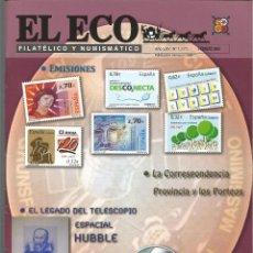 Francobolli: EL ECO FILATÉLICO Y NUMISMÁTICO NRO.1171 FEBRERO 2009 REVISTA - VER SUMARIO. Lote 54163981