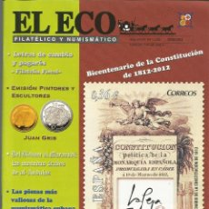 Francobolli: EL ECO FILATÉLICO Y NUMISMÁTICO NRO.1205 MARZO 2012 REVISTA - VER SUMARIO. Lote 54164105