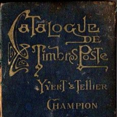 Sellos: CATALOGUE DES TIMBRES POSTE YVERT TELLIER CHAMPION 1927. Lote 54243517