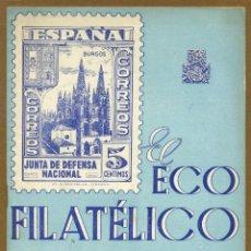 Sellos: EL ECO FILATELICO Nº 37 Y 38 - 1946. Lote 54915138