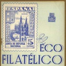 Sellos: EL ECO FILATELICO Nº 35 - 1946. Lote 54915160