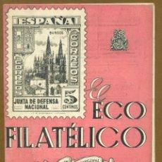 Sellos: EL ECO FILATELICO Nº 34 - 1946. Lote 54915181