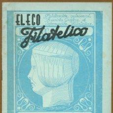Sellos: EL ECO FILATELICO Nº 20 - 1946. Lote 54935887