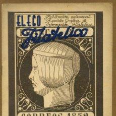 Sellos: EL ECO FILATELICO Nº 22 - 1946. Lote 54935903