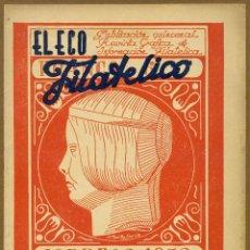 Sellos: EL ECO FILATELICO Nº 28 - 1946. Lote 54935959