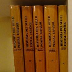 Sellos: HISTORIA DEL SELLO POSTAL ESPAÑOL. J.L. MONTALBÁN ALVAREZ. JOAQUÍN CUEVAS ALLER. Lote 55106493