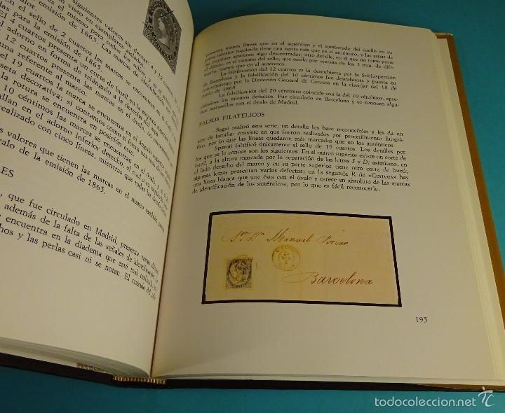 Sellos: HISTORIA DEL SELLO POSTAL ESPAÑOL. J.L. MONTALBÁN ALVAREZ. JOAQUÍN CUEVAS ALLER - Foto 5 - 55106493