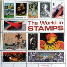 Sellos: LIBRO: THE WORLD IN STAMPS.. Lote 55322004