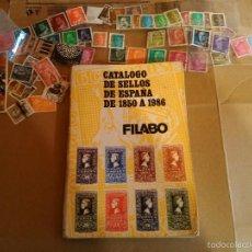 Sellos: CATALOGO SELLOS ESPAÑA USADO Y LOTE SELLOS. . Lote 55804453