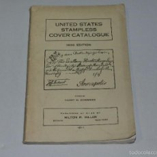 Sellos: (M) SELLOS - UNITED STATES STAMPLESS COVER CATALOGUE 1936 EDITION BY HARRY M KONWISER. Lote 55908781
