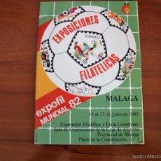 Sellos: EXPOSICIONES FILATELICAS EXPOFIL MUNDIAL 82 - MALAGA. Lote 56115422