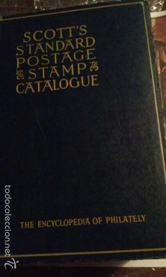 Sellos: SCOTTS STANDARD POSTAGE CATALOGUE THE ENCYCLOPEDIA OF PHILATEY - Foto 1 - 56240234