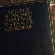 Sellos: SCOTTS STANDARD POSTAGE CATALOGUE THE ENCYCLOPEDIA OF PHILATEY. Lote 56240234