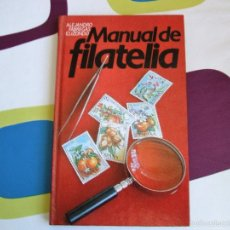 Sellos: MANUAL DE FILATELIA - ALEJANDRO FABREGAS - 1978 ***COMO NUEVO***. Lote 56409095