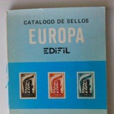 Sellos: CATALOGO SELLOS EUROPA 1982 EDIFIL. Lote 57140802