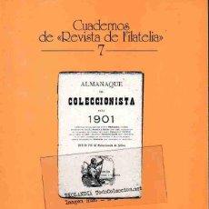 Sellos: EL ALMANAQUE DEL COLECCIONISTA DE SELLOS PARA 1901. Lote 56749236