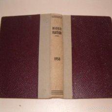 Sellos: VV.AA. MADRID FILATÉLICO. REVISTA MENSUAL. VOLUMEN 44. ENERO A DICIEMBRE DE 1950. RM75277. . Lote 57629122