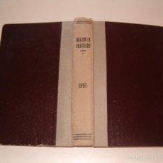 Sellos: VV.AA. MADRID FILATÉLICO. REVISTA MENSUAL. VOLUMEN 45. ENERO A DICIEMBRE DE 1951. RM75278. . Lote 57629181