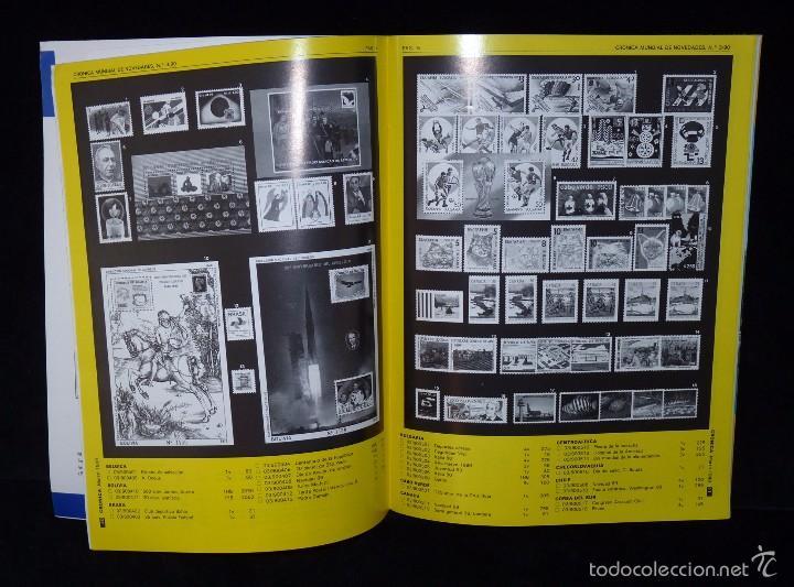 Sellos: REVISTA CRÓNICA FILATÉLICA Y NUMISMÁTICA. Nº 65. AÑO 1990 - Foto 2 - 57967118