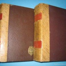 Sellos: CORREOS - DICCIONARIO GEOGRAFICO POSTAL DE ESPAÑA AÑO 1942 - OBRA COMPLETA 2 TOMOS - VER DESCRIPCION. Lote 58099866
