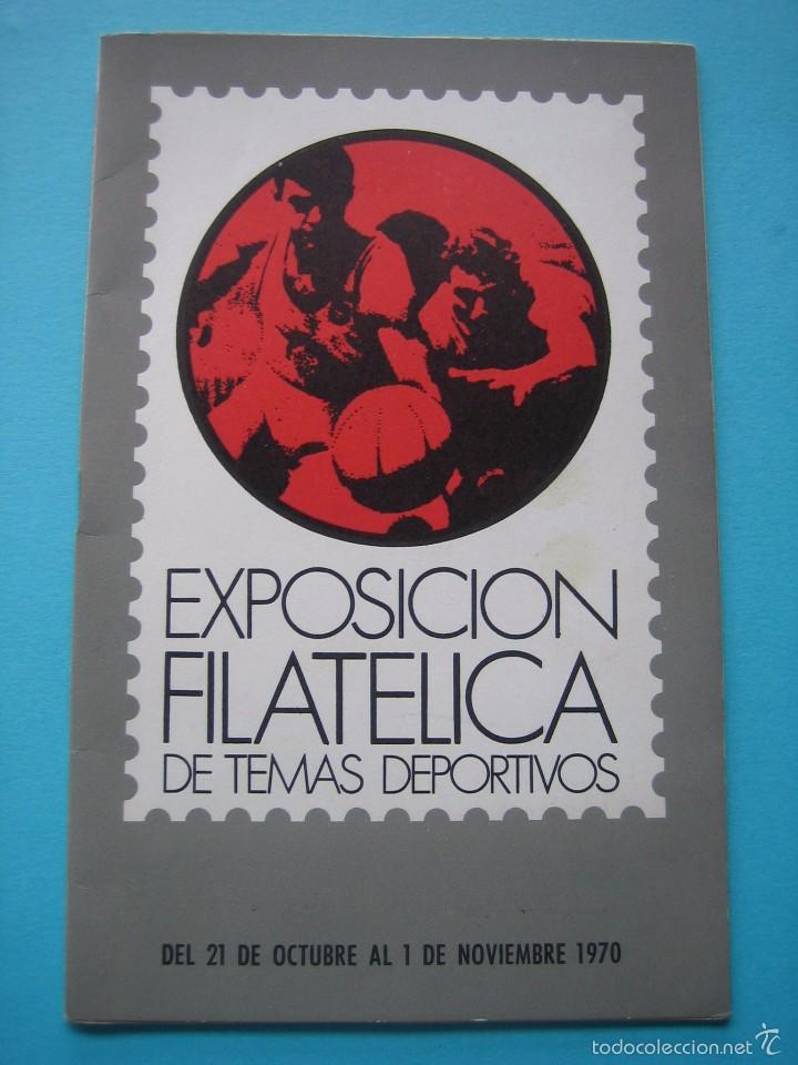 Sellos: EXPOSICION FILATELICA DE TEMAS DEPORTIVOS - SABADELL (BARCELONA) 1970 - 5 MATASELLOS ESPECIALES VER - Foto 2 - 58215246