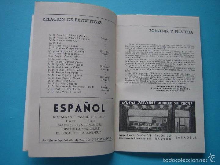Sellos: EXPOSICION FILATELICA DE TEMAS DEPORTIVOS - SABADELL (BARCELONA) 1970 - 5 MATASELLOS ESPECIALES VER - Foto 5 - 58215246