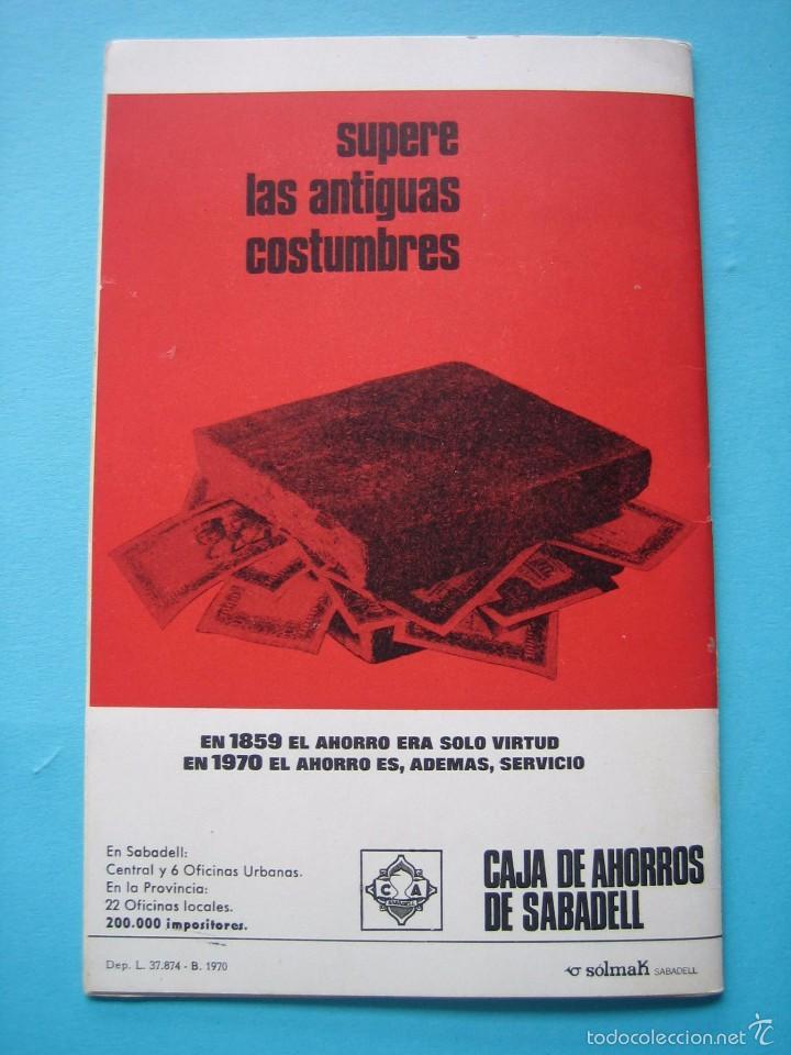 Sellos: EXPOSICION FILATELICA DE TEMAS DEPORTIVOS - SABADELL (BARCELONA) 1970 - 5 MATASELLOS ESPECIALES VER - Foto 12 - 58215246