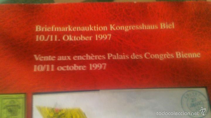 Sellos: catalogo de subasta de sellos Biel Kongresshaus de octubre de de 1997 - Foto 3 - 59678103