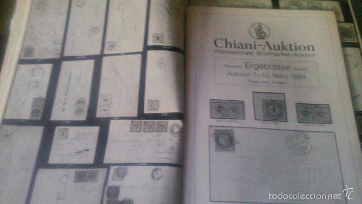 Sellos: catalogo de subasta de sellos, chiani auktion international briefmarken auktion 1994 zurich - Foto 6 - 59678315